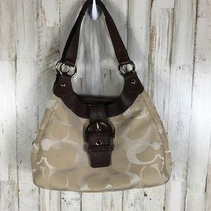Coach Soho Optic Lynn Hobo Signature C Handbag Bag